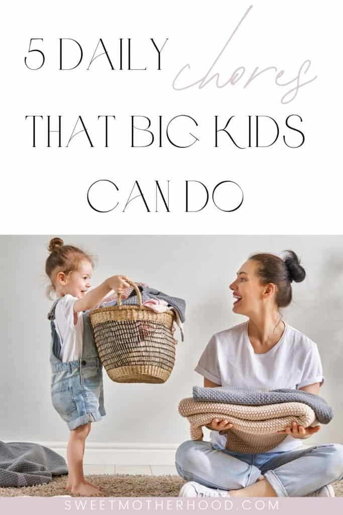 chores that big kids can do