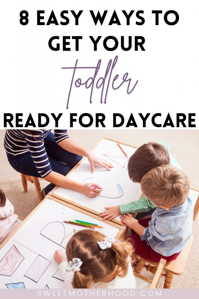 prepare your toddler for daycare