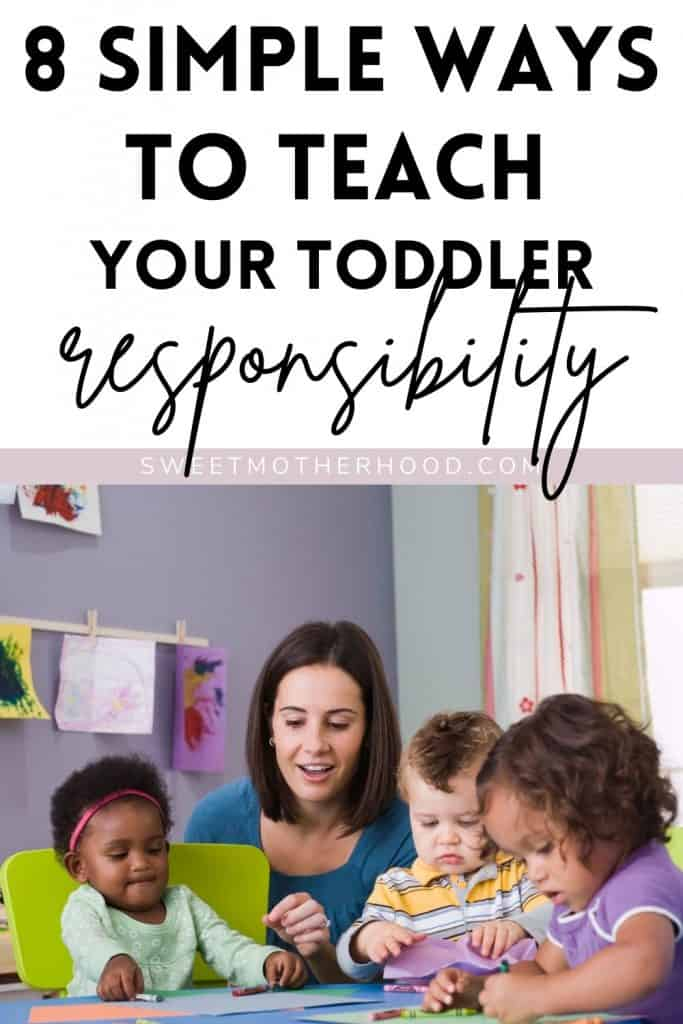 teach your toddler responsibility